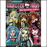 Album Monster High 2015 Uma Viagem No Tempo Vazio