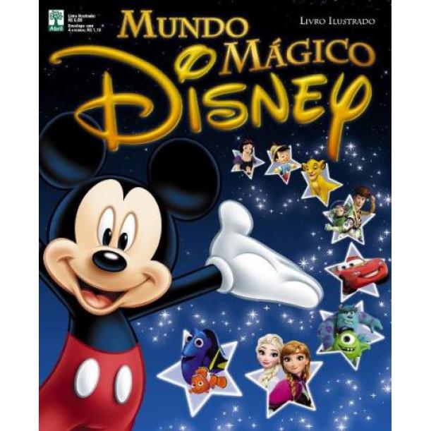 Album Mundo Mágico Disney Vazio Ano 2016 Abril