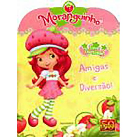 Figurinhas do Album Moranguinho Amigas e Diversão 2011 Panini