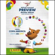 Figurinhas do Album Copa América Preview Argentina 2021 Columbia 2020