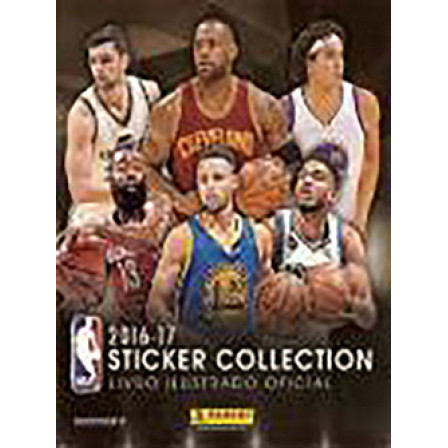 Album NBA Sticker Collection Vazio Ano 2016 Panini