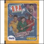 Envelope Album DPA O Misterio So Começou Ano 2020 Panini