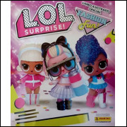 Figurinhas do Album Lol Surprise 3 Fashion Fun 2020 Panini