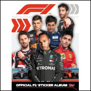 Album Formula 1 Official F1 Completo Ano 2020 Topps