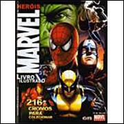 Figurinhas do Album Herois Marvel Ano 2008 Online