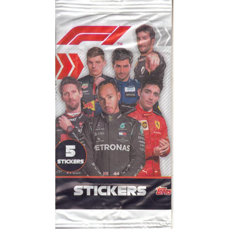 Envelope Formula 1 Ano 2020 Topps