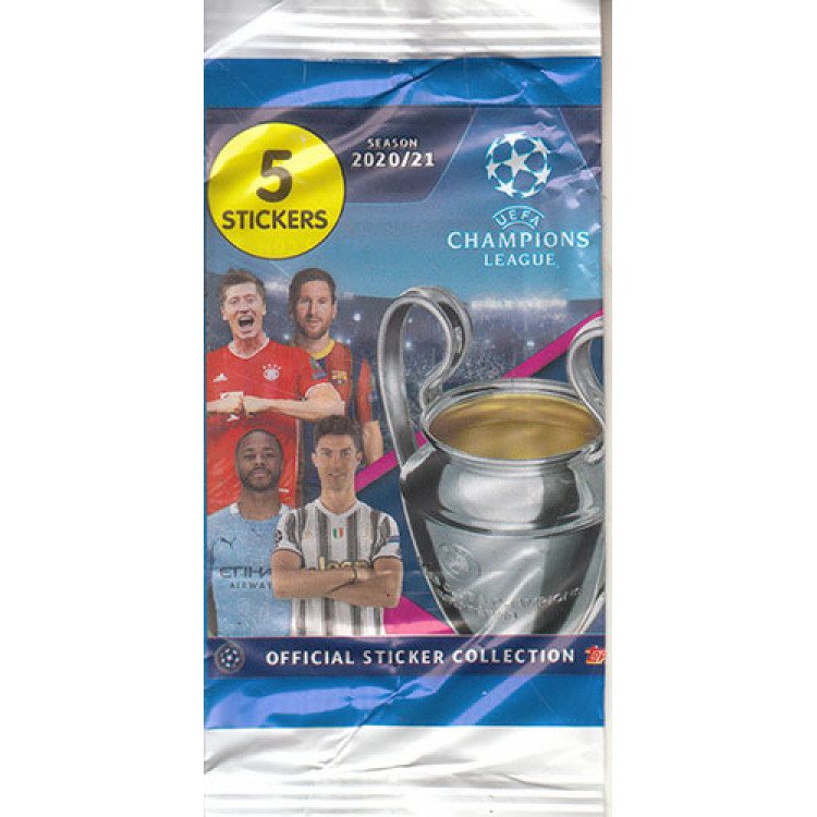 Envelope Uefa Champions League 2020 2021 Ano 2020 Topps