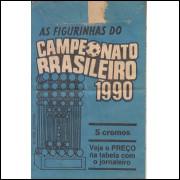 Envelope Campeonato Brasileiro 1990 Panini