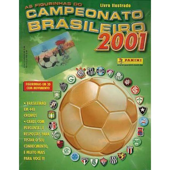 Figurinhas do Album Campeonato Brasileiro Mini Cards 2001 Panini