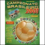 Figurinhas do Album Campeonato Brasileiro 2001 Panini
