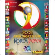 Figurinhas do Álbum Fifa World Cup Korea Japan 2002 Panini Made Italia