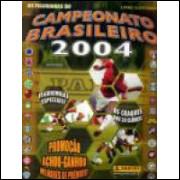 Figurinhas do Album Campeonato Brasileiro 2004 Panini