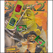 Figurinhas do Album Shrek 2 2004 Panini