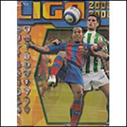 Figurinhas do Álbum Campeonatto Espanhol Liga 2005-2006 2005 Panini