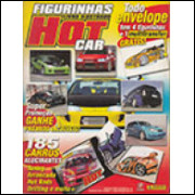 Figurinhas do Álbum Hot Car 2005 Panini