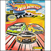 Figurinhas do Álbum Hot Wheels Mega Race 2005 Panini