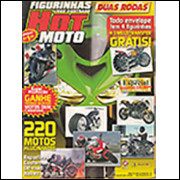 Figurinhas do Álbum Hot Moto 2005 Panini