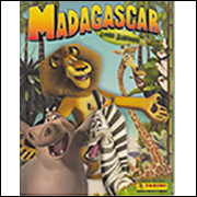 Figurinhas do Álbum Madagascar 2005 Panini