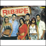 Figurinhas do Álbum Rebelde 2 Temporada Cards 2005 Panini