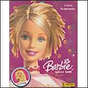 Figurinhas do Álbum Barbie Fashion Look 2005 Panini