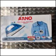 Ferro de Passar Roupa Arno Stean Team Azul 127 v