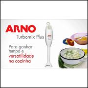 Mixer Arno Turbo Mix Plus 300W Branco 127 v