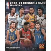 Figurinhas do Álbum NBA 2020 2021 2021 Panini