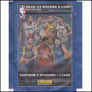 Envelope do Album NBA 2020-2021 Sticker & Card 2021